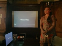 Cassidy Presenting