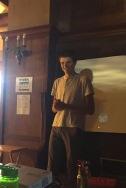 Tom Presenting