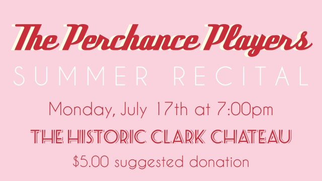 Perchance Players Summer Recital