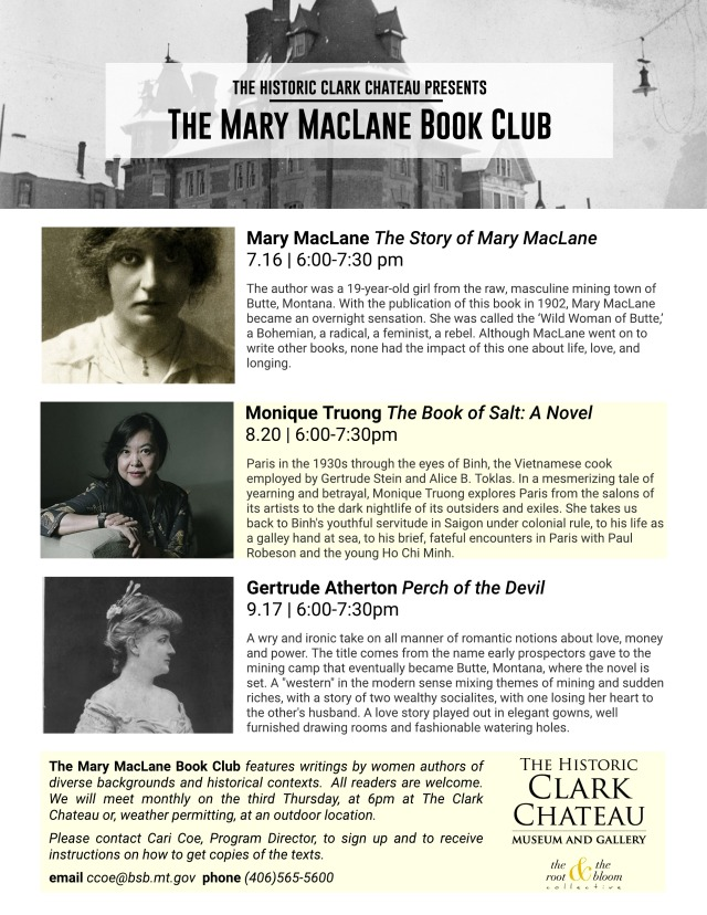Mary MacLane Book Club - Untitled Page